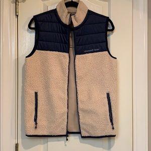 Vineyard vines Shep fuzzy vest